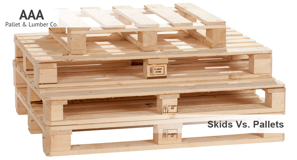What Is A Skid >> Skids Vs Pallets Aaa Pallet Lumber Co 602 278 1450